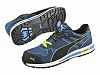Puma Safety Blue Toe Cap Safety Trainers, UK