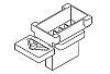 Molex, Micro-Fit Male PCB Contact 46625-0300