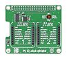 MikroElektronika Pi 3 Click Shield with 2 mikroBUS