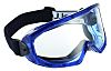 Clear Polycarbonate (PC) Anti-Mist Vented Safety Goggles, Scratch