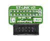 MikroElektronika mikroProg to ST-Link v2 Adapter Adapter Board