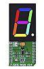 MikroElektronika 7-SEG RGB Click 7 Segment Digit Display,