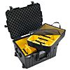 Peli 1607 Waterproof Plastic Equipment case With Wheels,