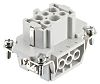 RS PRO Heavy Duty Power Connector Insert, 7 contacts, 16A, Female