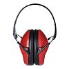 RS PRO Ear Defender with Headband, 22dB, Red