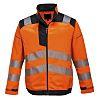 RS PRO Orange Men Hi Vis Jacket, L