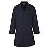 RS PRO Navy Men Reusable Lab Coat, S
