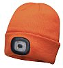 RS PRO Orange Acrylic LED Beanie Hat