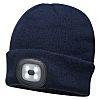 RS PRO Navy Acrylic LED Beanie Hat
