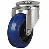Rueda con vástago giratoria RS PRO, carga 150kg, diámetro de rueda 80mm