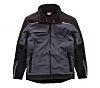 Dickies DP1001 Black/Grey Men's M Softshell Jacket