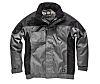 Dickies IN30060 Black/Grey Polyester Men's Work Jacket, M