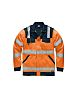 Dickies SA30015 Orange/Navy Men's M Hi Vis Jacket