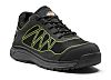 Dickies FC9527 Black/Green Men Toe Cap Safety Trainers,