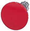 Siemens, Red, Rotate-To-Unlatch 60mm Round Head Emergency Button