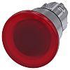 Siemens Mushroom Red Push Button - Latching, SIRIUS