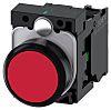 Siemens, SIRIUS ACT Red Flat, SPNO, 22mm Momentary Screw