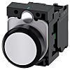 Siemens, SIRIUS ACT White Flat, SPNO, 22mm Momentary Screw