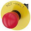 Siemens, Red, Pull-To-Unlatch 40mm Round Head Emergency Button