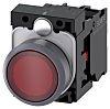 Siemens, SIRIUS ACT Illuminated Red Flat Push Button