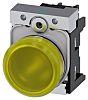 Siemens, SIRIUS ACT, Panel Mount Yellow LED Indicator,