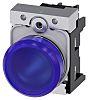 Siemens, SIRIUS ACT, Panel Mount Blue LED Indicator,