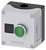 Siemens Enclosed Push Button - NO, Metal, Green,