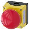 Siemens, Red, Pull-To-Unlatch Round Head Emergency Button