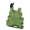 Phoenix Contact 2 Pin Relay Socket, DIN Rail,