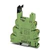 Phoenix Contact 2 Pin Relay Socket, DIN Rail,