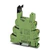 Phoenix Contact 1 Pin Relay Socket, DIN Rail,