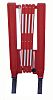 RS PRO Red Barrier & Stanchion, Extendable Barrier