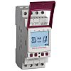 2 Channel Digital DIN Rail Time Switch Measures