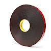 3M 5925F, VHB™ Black Foam Tape, 25mm x