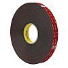 3M 5952F, VHB™ Black Foam Tape, 19mm x