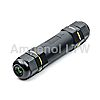 Amphenol Circular Connector, 3 contacts Cable Mount Socket,