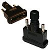 Norcomp 967 Series ABS Top Entry D-sub Connector