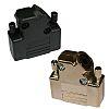 Norcomp, 971 Zinc D-sub Connector Backshell, 9 Way