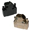 Norcomp, 971 Zinc D-sub Connector Backshell, 15 Way