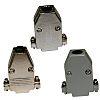 Norcomp, 979 Zinc D-sub Connector Backshell, 15 Way