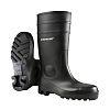 Dunlop Protomastor Black Steel Toe Cap Safety Boots,