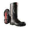 Dunlop Purofort Black Steel Toe Cap Safety Boots,