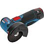 Bosch GWS 12V-76 76mm Cordless Angle Grinder, Euro