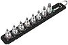 Wera 05003974001 8 Piece Socket Set, 3/8 in