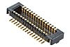 Molex, 55909, 22 Way, 2 Row, Straight PCB