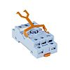 Releco 11 Pin Relay Socket, DIN Rail, 250V