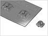 Conector coaxial Hirose U.FL-R-SMT-1(10), Hembra, Recta, Impedancia 50Ω, Montaje Superficial, Terminación de Soldador,