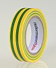 HellermannTyton Green, Yellow Electrical Tape, 15mm x 10m
