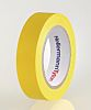 HellermannTyton Yellow Electrical Tape, 15mm x 10m