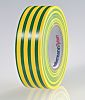 HellermannTyton Green, Yellow Electrical Tape, 19mm x 20m